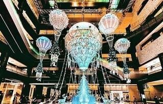 気球,イルミネーション,クリスマス,梅田,グランフロント大阪,シャンパンゴールド,グランフロントクリスマス