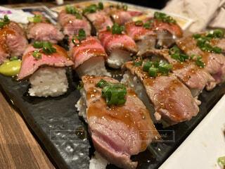 肉寿司の写真・画像素材[3659440]