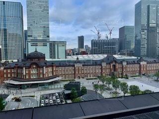 人が減った東京駅の写真・画像素材[3657059]