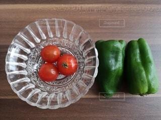 食べ物,野菜,ミニトマト,食品,ピーマン,食材,フレッシュ,ベジタブル