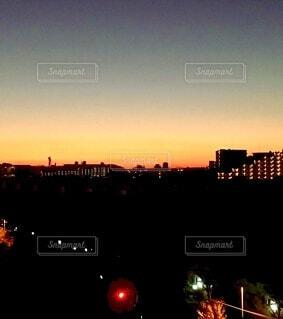夜明け前の写真・画像素材[3731985]