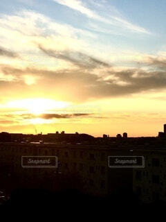 日の出の写真・画像素材[3731984]