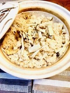 土鍋ご飯。の写真・画像素材[3740422]