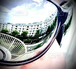 反射レンズの写真・画像素材[3761187]