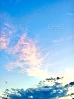 秋の空の写真・画像素材[3824118]