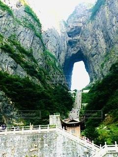 岩山の眺めの写真・画像素材[4132114]