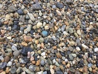 海辺のシーグラスの写真・画像素材[3673137]