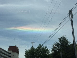 彩雲の写真・画像素材[3673149]