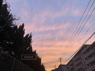 夕焼けの写真・画像素材[3708078]