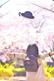 卒園おめでとうの写真・画像素材[3682999]