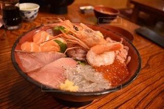 海鮮丼の写真・画像素材[3691520]
