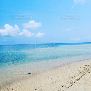 美しい石垣島のビーチの写真・画像素材[4457577]