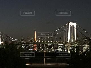 夜景の写真・画像素材[3686259]