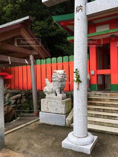 日本の神社の写真・画像素材[3750943]