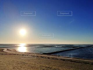 海と砂浜の写真・画像素材[3751451]