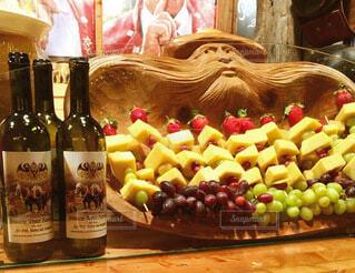 葡萄酒とお洒落おつまみの写真・画像素材[3753792]
