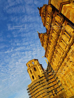 ヨーロッパの古城の写真・画像素材[3757070]
