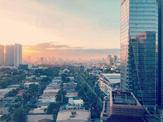都市の夕暮れの写真・画像素材[3783873]