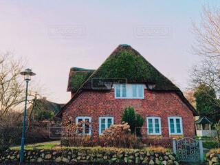 美しい一軒家の写真・画像素材[3803061]