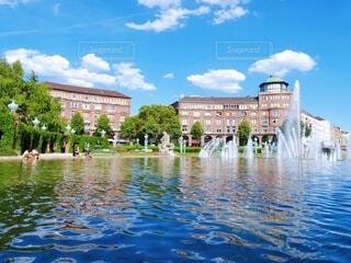 ヨーロッパの美しい建物の写真・画像素材[3803060]
