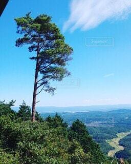 山頂から見下ろす風景の写真・画像素材[3799981]