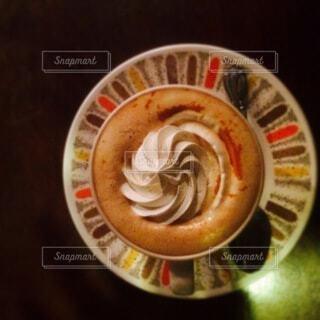 古き良き喫茶店のウインナーコーヒーの写真・画像素材[3688236]