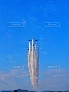 戦闘機の航空ショーの写真・画像素材[3698245]
