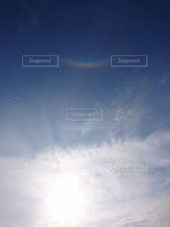 空の虹の写真・画像素材[3786574]