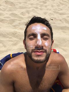 海,夏,ビーチ,日焼け,外国,旅行,日焼け止め