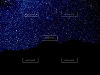 ネパールの星空の写真・画像素材[3704963]