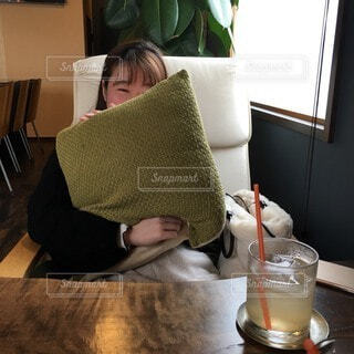 友達とお茶の写真・画像素材[3839774]