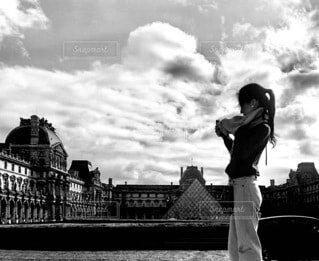 パリにての写真・画像素材[3703877]