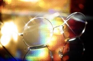逆さメガネの写真・画像素材[3720369]