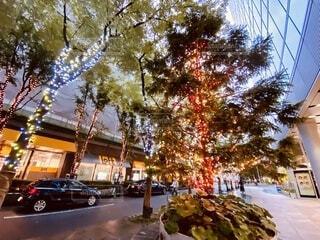 街の通りの眺めの写真・画像素材[3714461]
