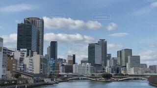 天満橋からの都会の風景の写真・画像素材[4766212]