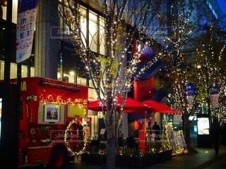 夜,屋外,樹木,クリスマス,装飾,グランフロント大阪,クリスマスの装飾,グランフロントクリスマス