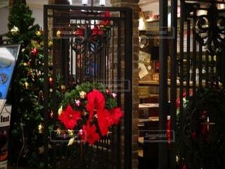屋内,かわいい,オシャレ,クリスマス,リース,店,レストラン,装飾,明るい,クリスマスツリー,グランフロント大阪,グランフロントクリスマス