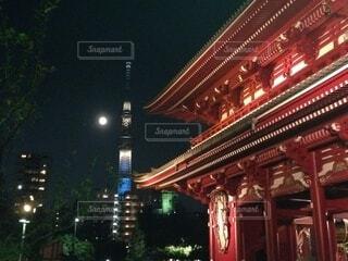 浅草の風景の写真・画像素材[3717723]