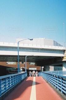 歩道橋の写真・画像素材[3720207]