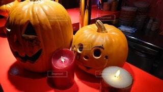 かぼちゃの置物の写真・画像素材[3785171]