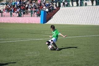 大好きなサッカーの写真・画像素材[3803298]