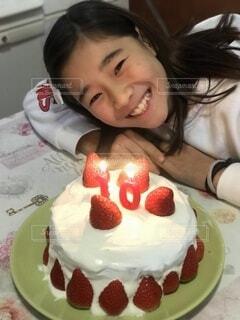 今年も手作りケーキでの写真・画像素材[4639342]