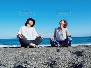 親友と最高の旅〜の写真・画像素材[3720352]