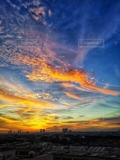 空の模様の写真・画像素材[3787057]