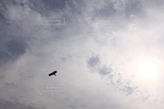 曇った空をの写真・画像素材[3758615]