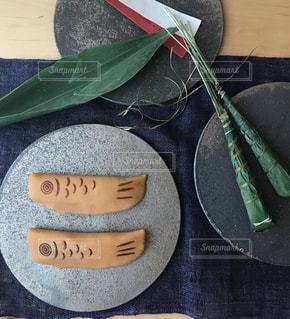 黒の靴のペアの写真・画像素材[1074313]