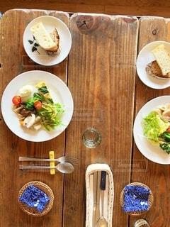 小豆島旅行に行った時に食べたランチの前菜です。の写真・画像素材[3903232]