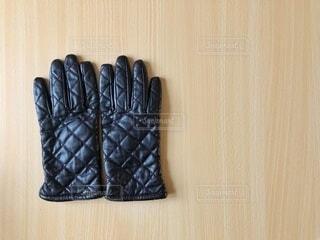 愛用の手袋の写真・画像素材[4049841]