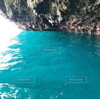 青の洞窟の写真・画像素材[3735489]