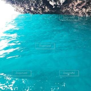 青の洞窟の写真・画像素材[3735503]